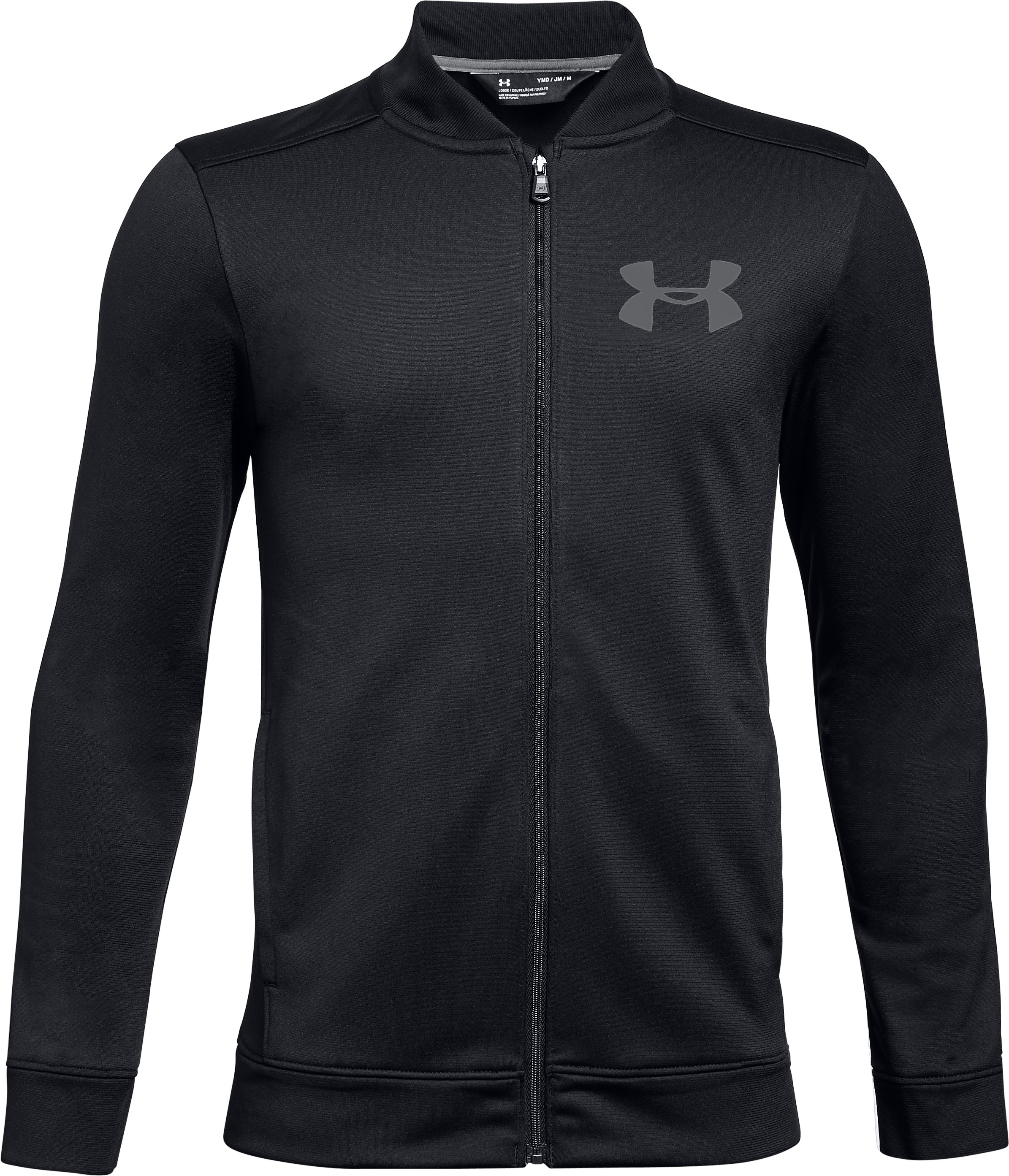 Boys' UA Pennant 2.0 Jacket, Black ,