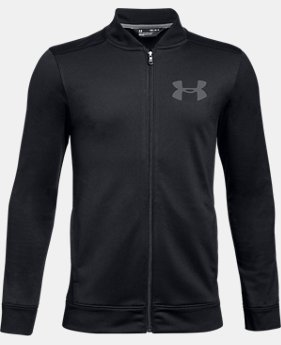 New Arrival Boys' UA Pennant 2.0 Jacket  1  Color Available $40