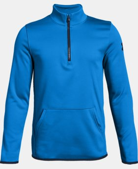 Boys' Armour Fleece® Elevate ¼ Zip  7  Colors Available $40