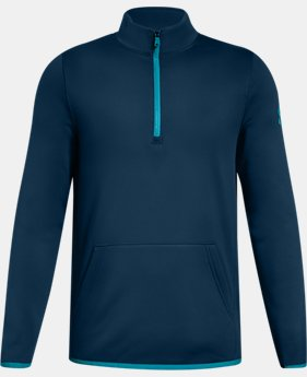 New Arrival Boys' Armour Fleece® Elevate ¼ Zip FREE U.S. SHIPPING 3  Colors Available $40