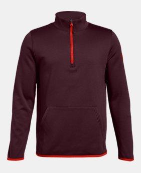 0e3666299d0d Boys  Armour Fleece® Elevate ¼ Zip 4 Colors Available  24 to  28.99