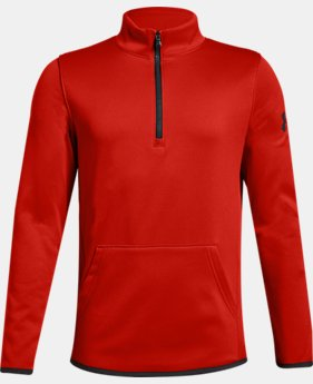 Boys' Armour Fleece® Elevate ¼ Zip  1  Color Available $40