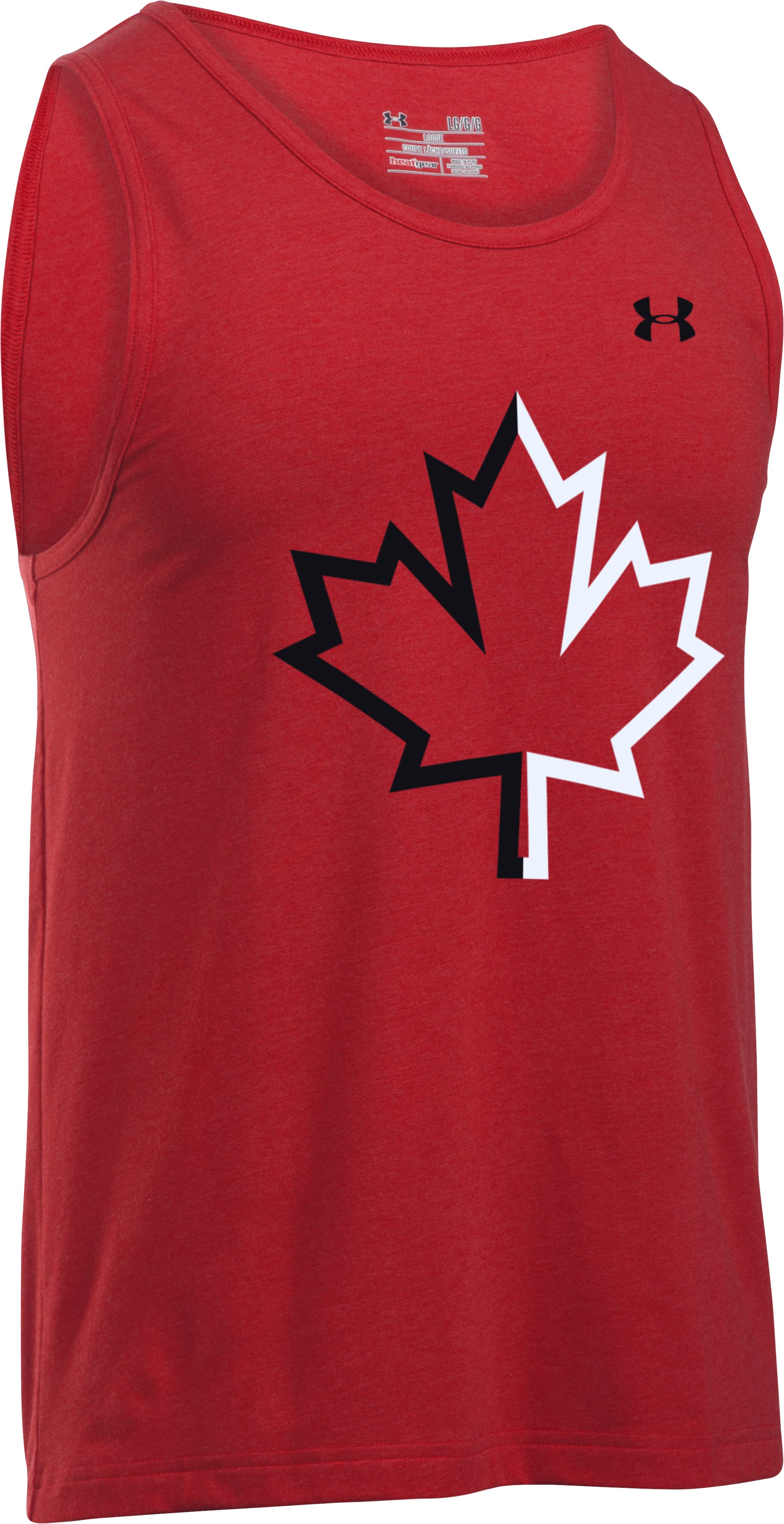 Men's UA Canada Tank , Red,