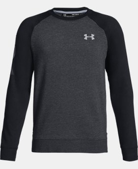 Boys' UA Rival Crew  3  Colors Available $40 to $45
