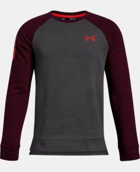 Boys' UA Rival Crew  2  Colors Available $50