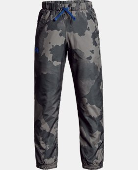 Boys' UA Phenom Pants - Printed  2  Colors Available $55