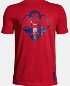New Arrival Boys' Under Armour® Alter Ego Justice League Superman T-Shirt  1 Color $24.99