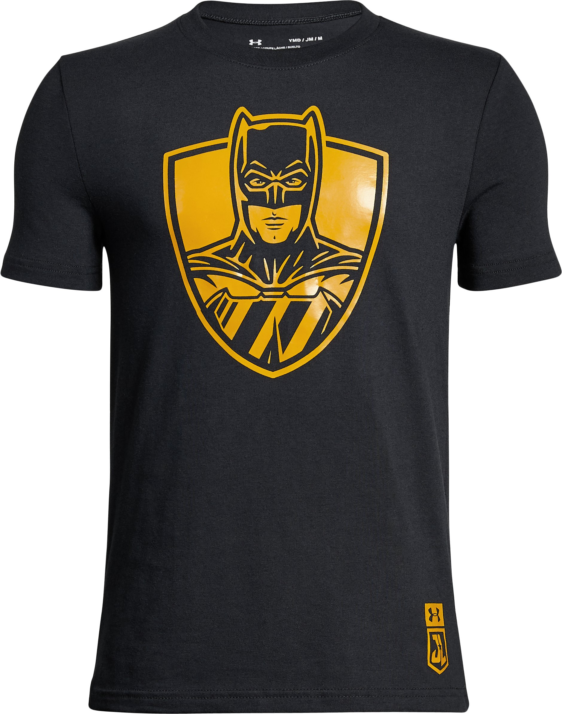 Boys' Under Armour® Alter Ego Justice League Batman T-Shirt, Black , zoomed
