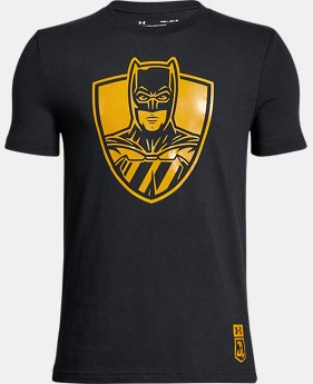 Boys' Under Armour® Alter Ego Justice League Batman T-Shirt   $24.99