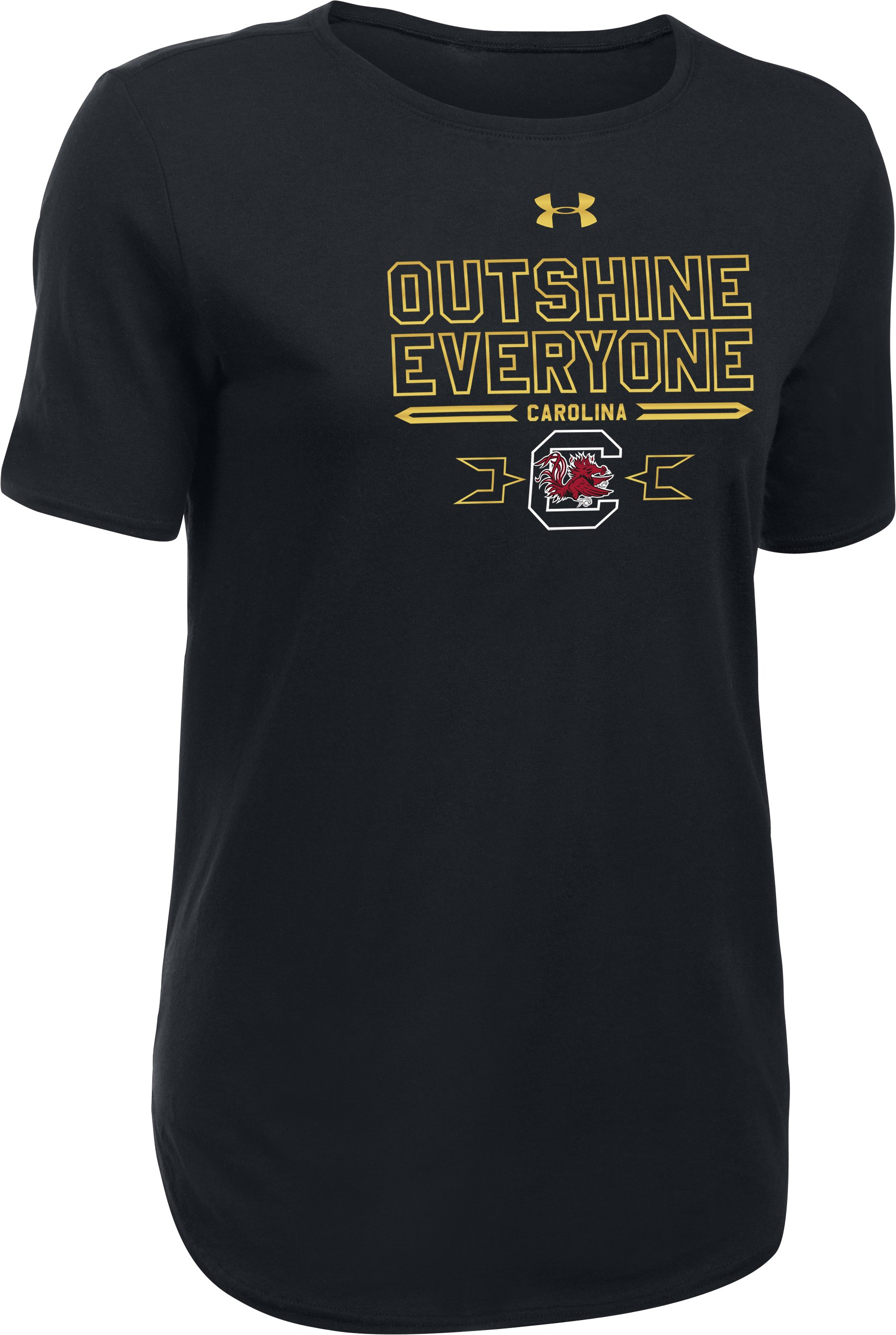 Women's South Carolina Outshine T-Shirt, Black
