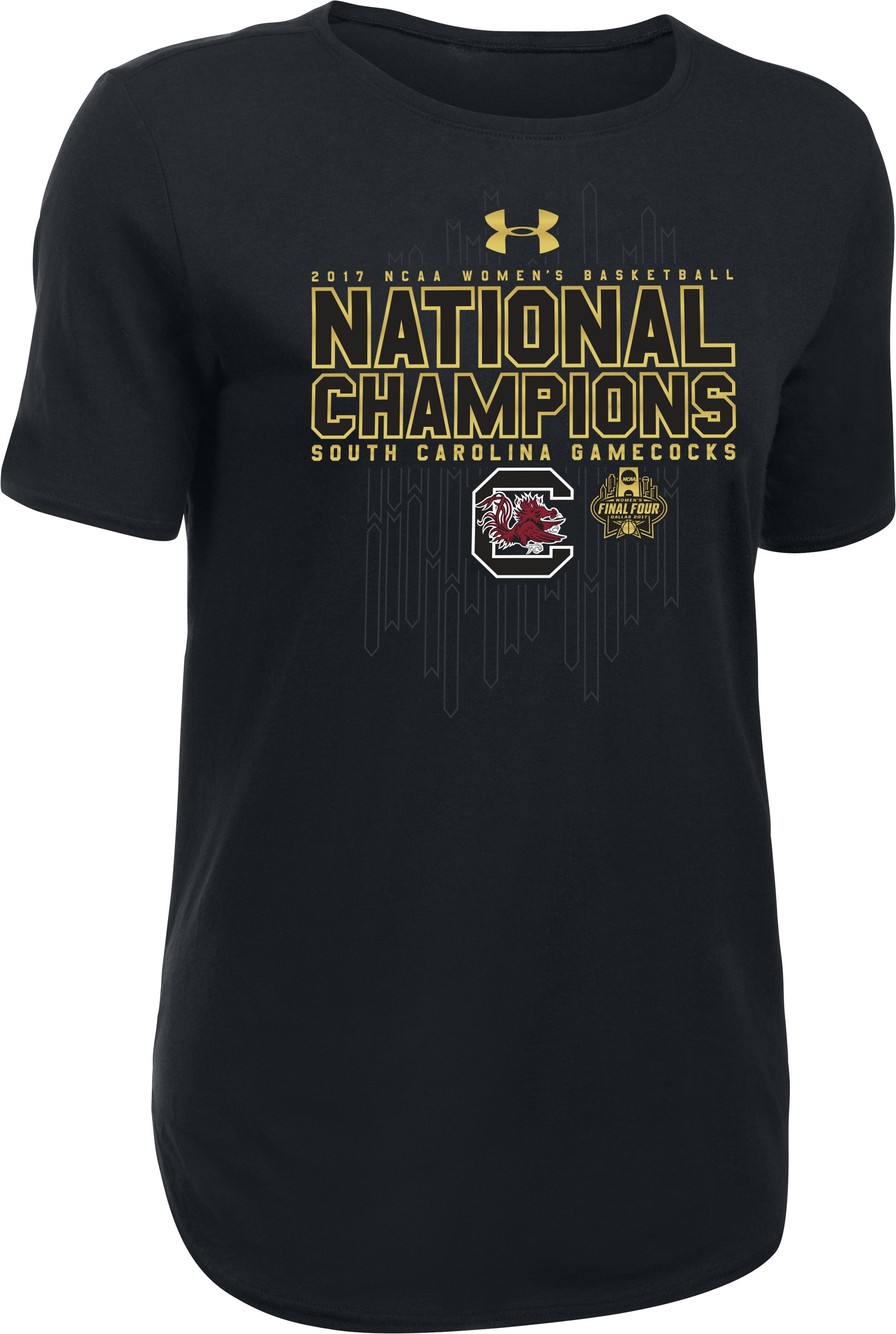 Women's South Carolina Women's National Champ T-Shirt, Black