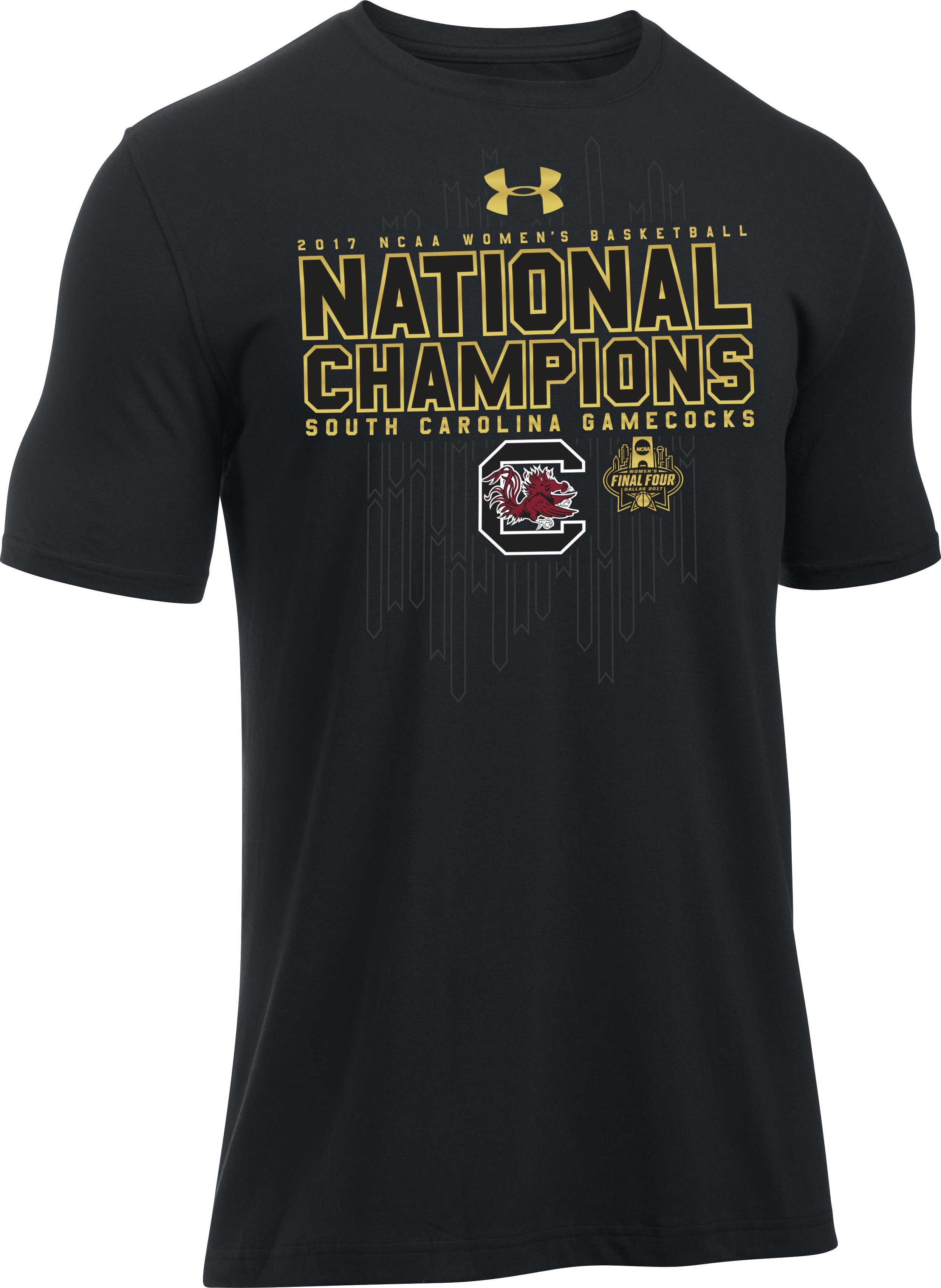 Men's South Carolina Women's National Champ T-Shirt, Black , undefined