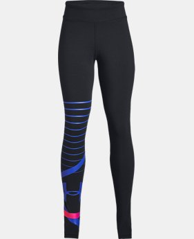 Girls' UA Finale Leggings  2  Colors Available $35