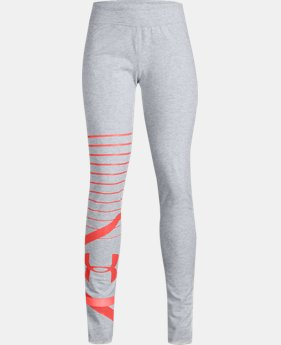 New Arrival  Girls' UA Finale Leggings  1  Color Available $45