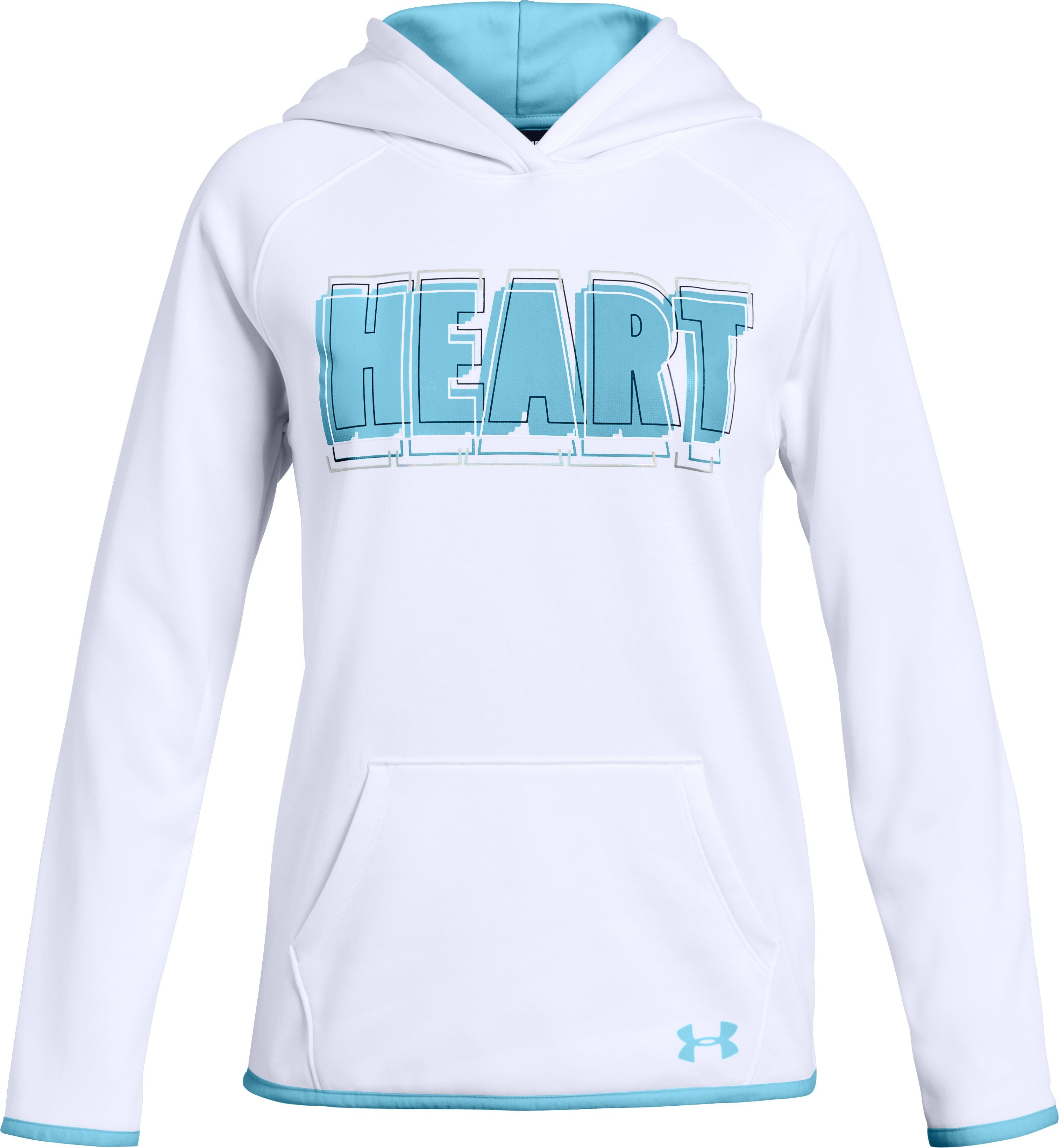 AF Hoody Heart Verbiage, White, zoomed