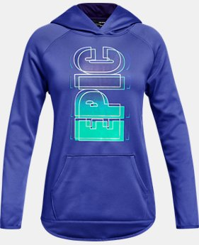 Girls' Armour Fleece® 'Epic' Hoodie  1  Color Available $50