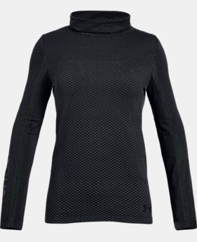 Girls' UA Seamless Cozy Long Sleeve  2  Colors Available $35