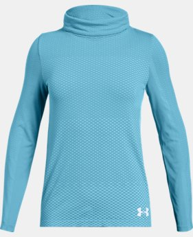 Girls' UA Seamless Cozy Long Sleeve  2  Colors Available $26.25