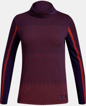 Girls' UA Seamless Cozy Long Sleeve  1  Color Available $22.5