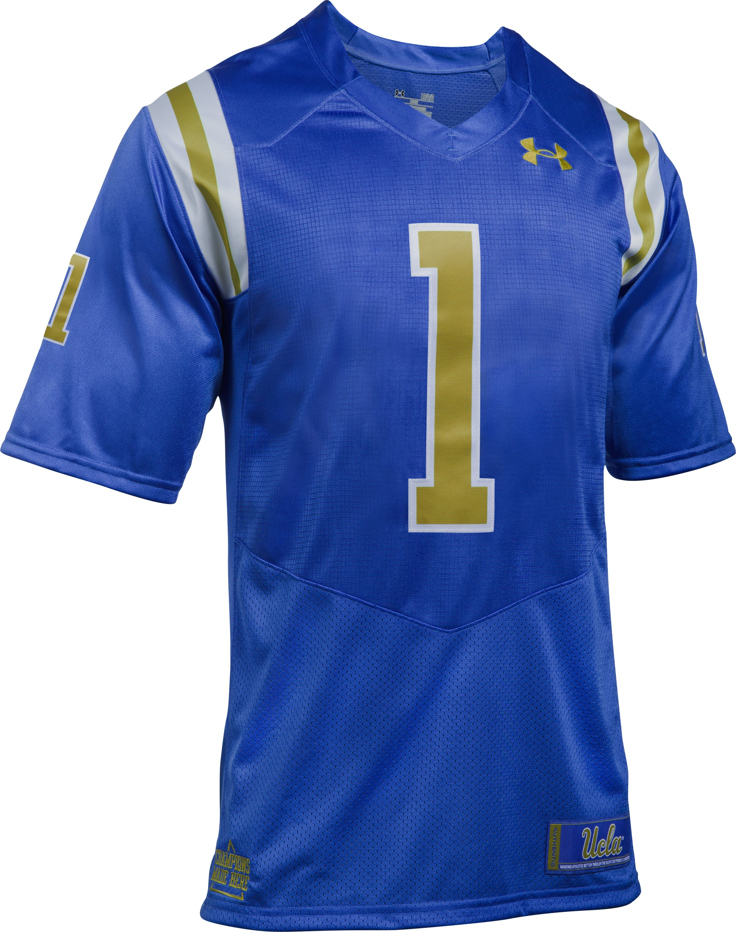 Men's UCLA Replica Home Jersey, POWDERKEG BLUE,