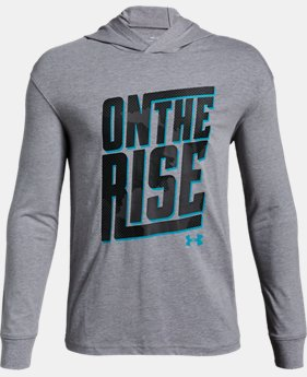 New Arrival Boys' UA 'On the Rise' Graphic Hoodie  1  Color Available $35