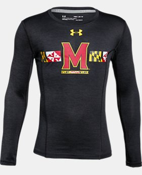 New Arrival Boys' Maryland Long Sleeve Training T-Shirt  1 Color $37.99