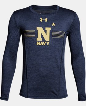 Boys' Naval Academy Long Sleeve Training T-Shirt  1  Color Available $37.99