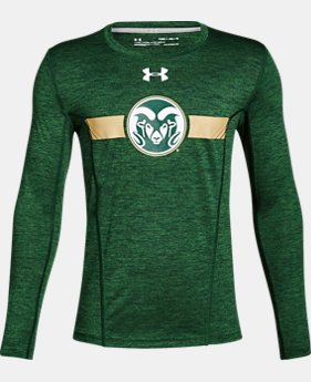 Boys' CSU Long Sleeve Training T-Shirt  1  Color Available $37.99