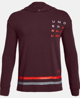 New Arrival Boys' UA Wordmark Graphic Hoodie FREE U.S. SHIPPING 1  Color Available $35