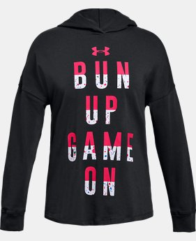 New to Outlet Girls' UA Game On Hoodie  1 Color $26.24