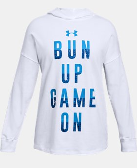 Girls' UA Game On Hoodie  1  Color Available $26.24