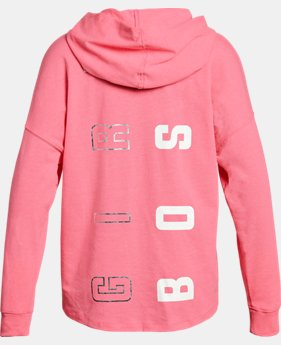 Girls' UA Girl Boss Knit Hoodie   1 Color $34.99