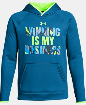 Boys' Armour® Fleece Winning Hoodie LIMITED TIME OFFER 1 Color $29.99