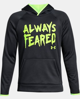 Boys' Armour® Fleece Always Feared Hoodie LIMITED TIME OFFER 1 Color $29.99