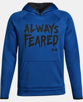 Boys' Armour® Fleece Always Feared Hoodie LIMITED TIME OFFER 2 Colors $29.99