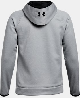 New Arrival Boys' Armour® Fleece Amped Hoodie  2 Colors $44.99