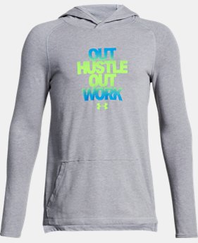 Boys' UA Knit Hustle Hoodie  2 Colors $34.99