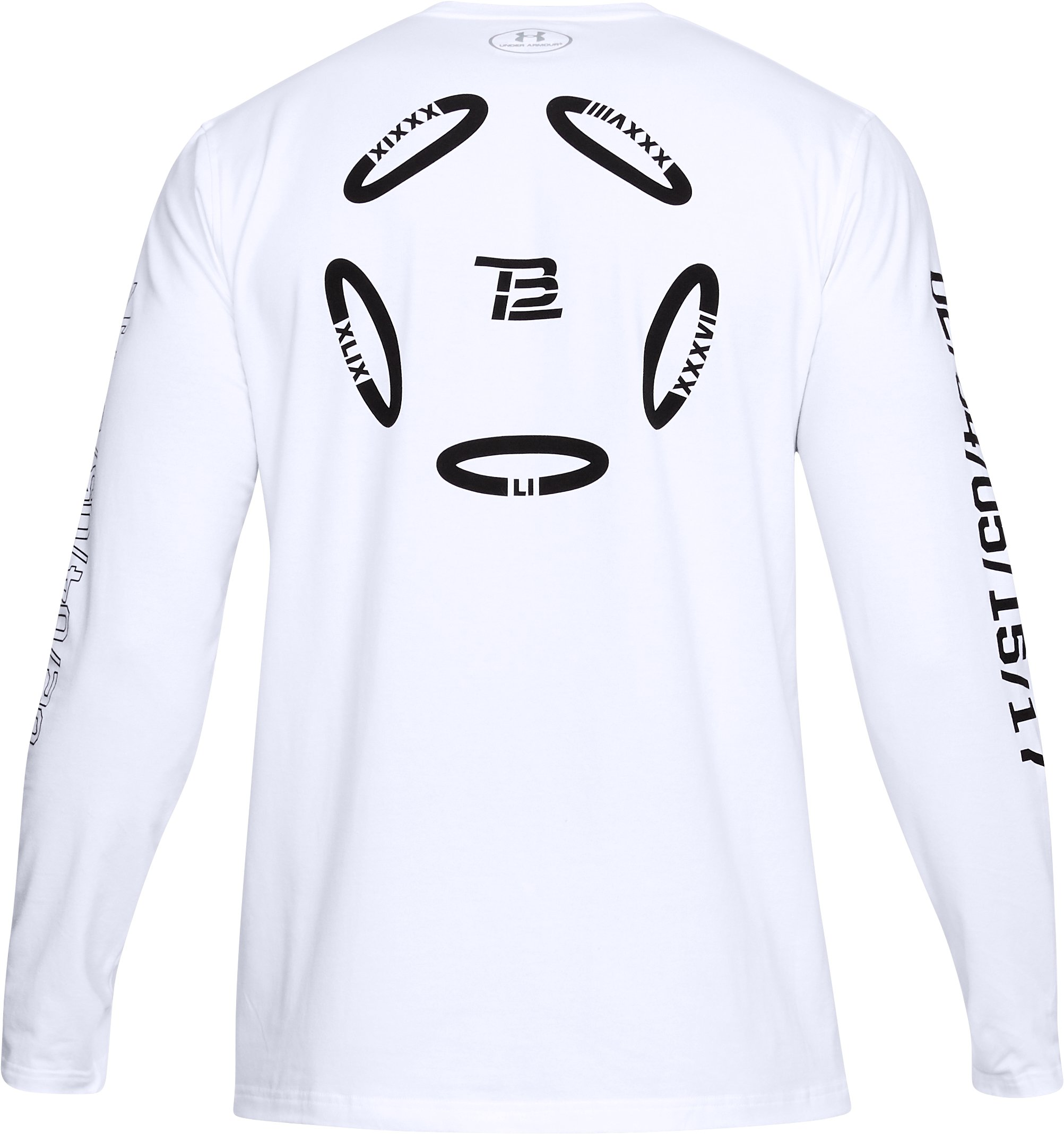 Men's TB12 UA LE Long Sleeve T-Shirt, White, undefined