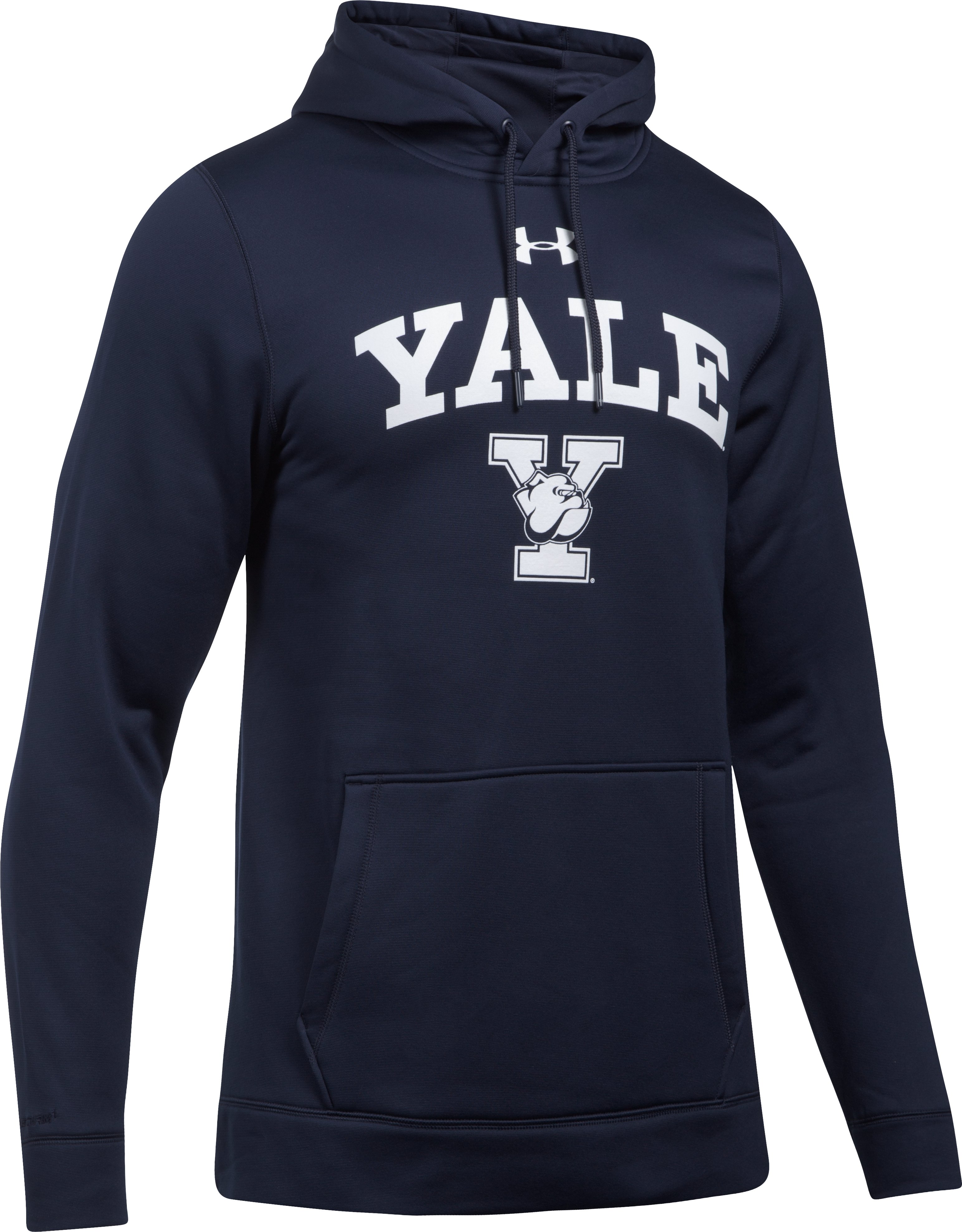 Men's Yale Armour® Fleece Hoodie, Midnight Navy