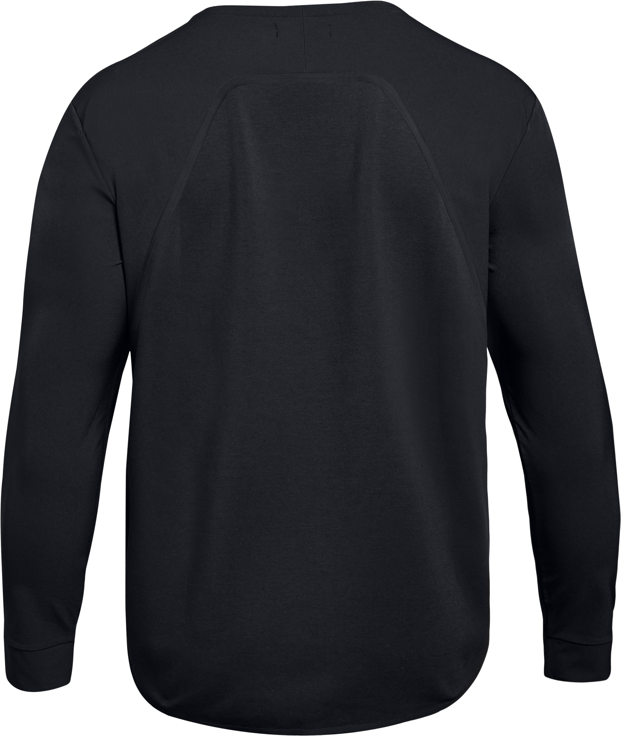 Men's UAS Pivot Crew, Black ,