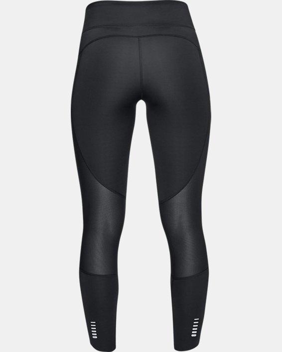 Corsaire UA Speedpocket Run Crop pour femme, Black, pdpMainDesktop image number 4