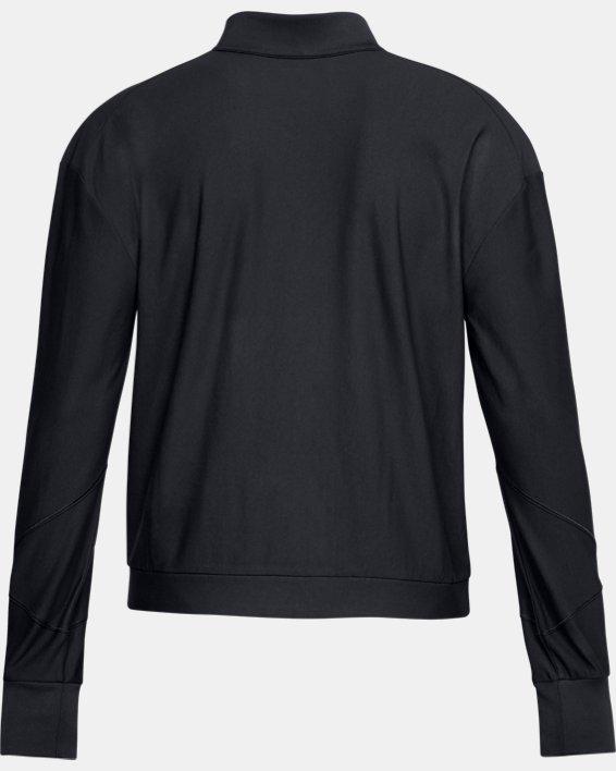 Women's UA RECOVER™ Balance Track Jacket, Black, pdpMainDesktop image number 4