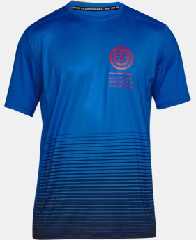 Men's Under Armour® Alter Ego Captain America Raid Short Sleeve  1  Color Available $40