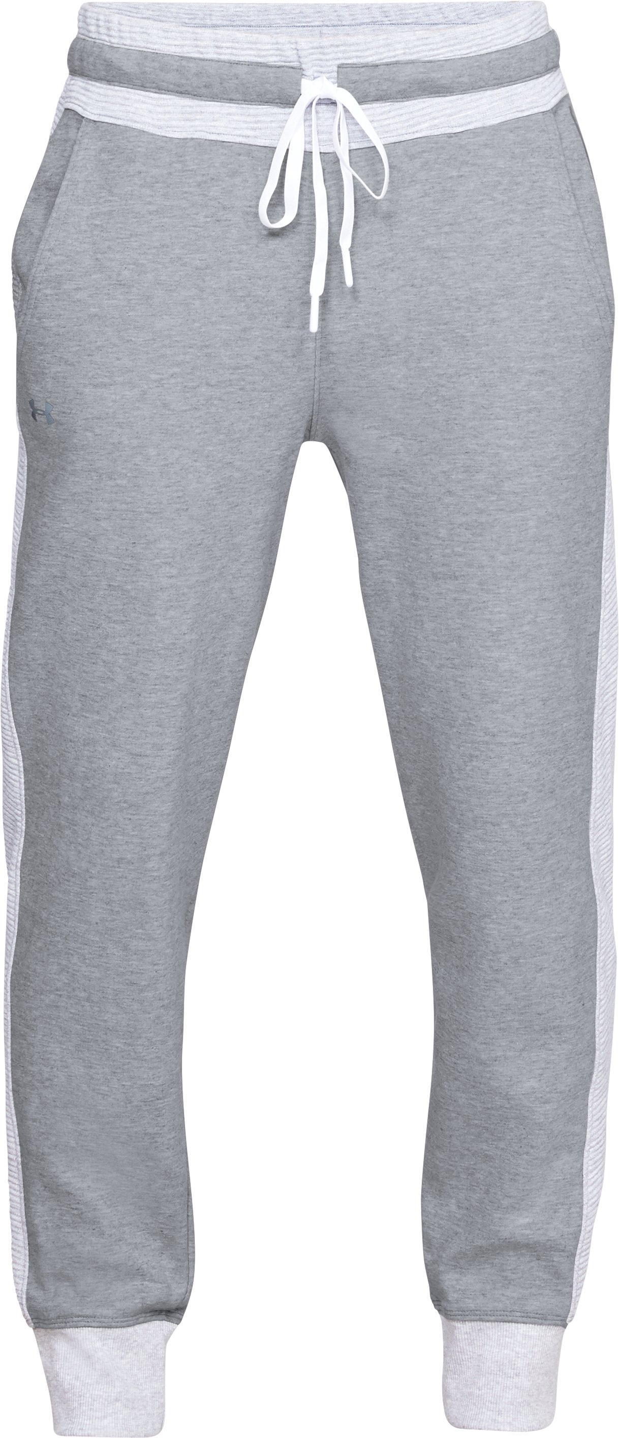 Women's UA Unstoppable Double Knit Pants, STEEL MEDIUM HEATHER,