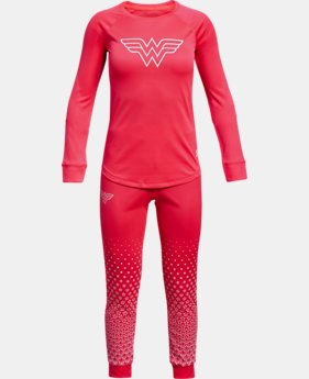 New Arrival Girls' UA Tech™ Wonder Woman Set  1 Color $59.99
