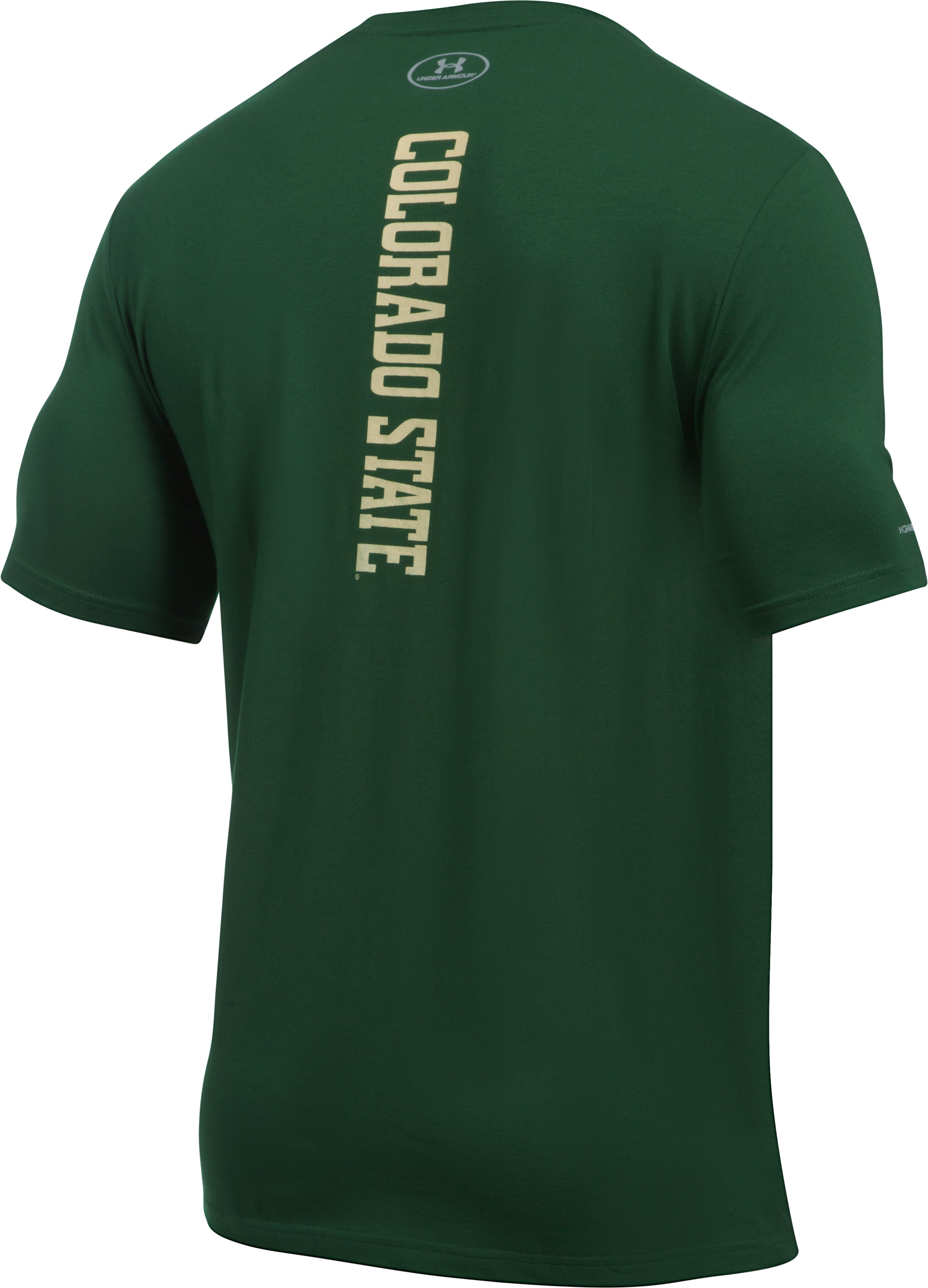 Men's CSU Charged Cotton® T-Shirt, Forest Green