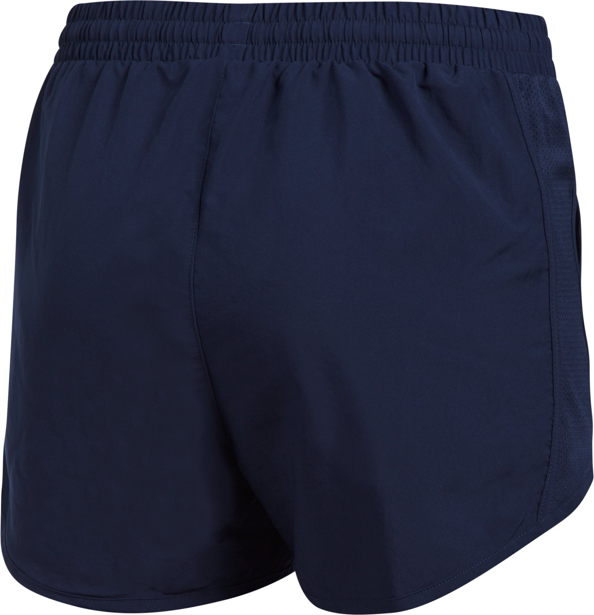 Women's UA California Fly-By Shorts, Midnight Navy,