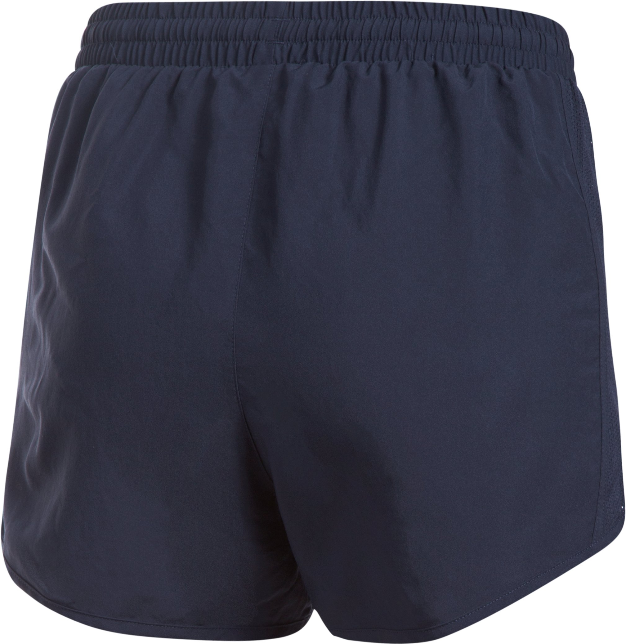 Women's Notre Dame Fly By Shorts, Midnight Navy, undefined