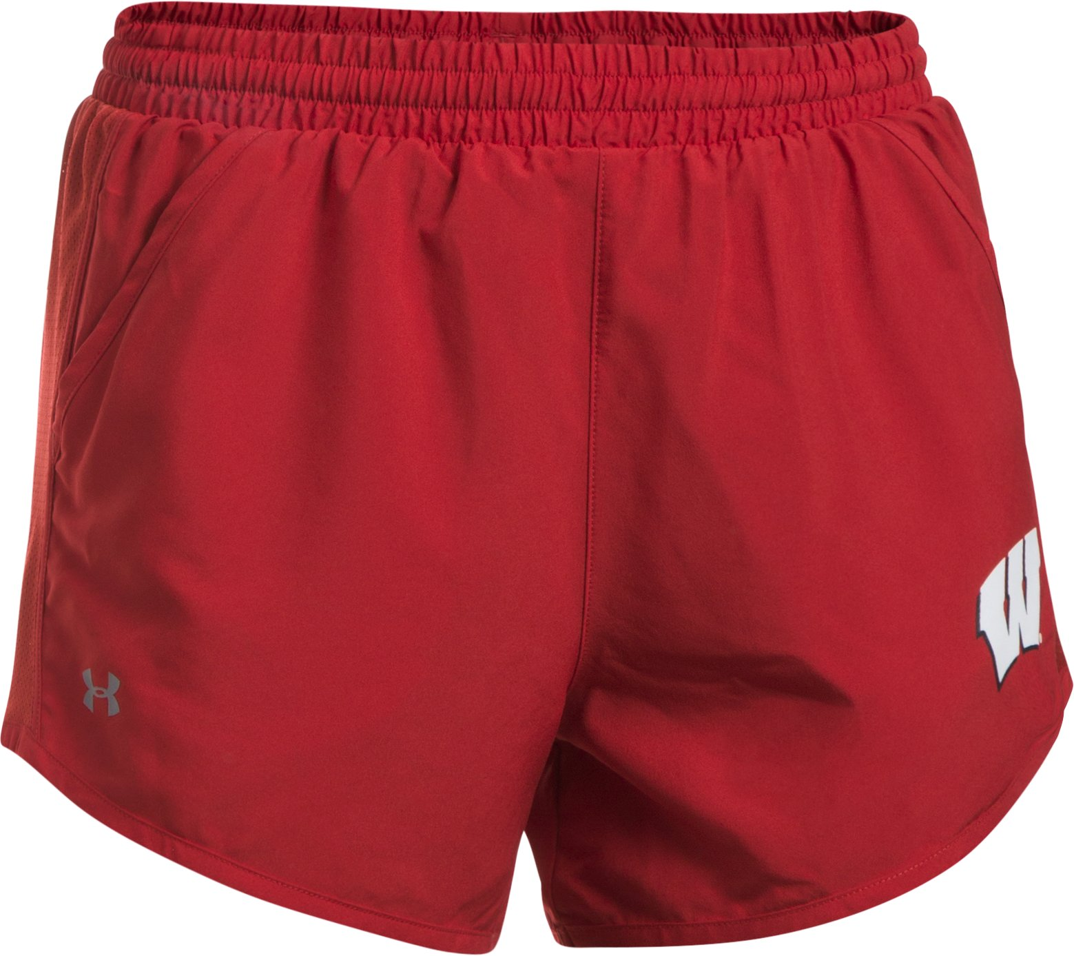 Women's Wisconsin Fly By Shorts, Flawless, undefined