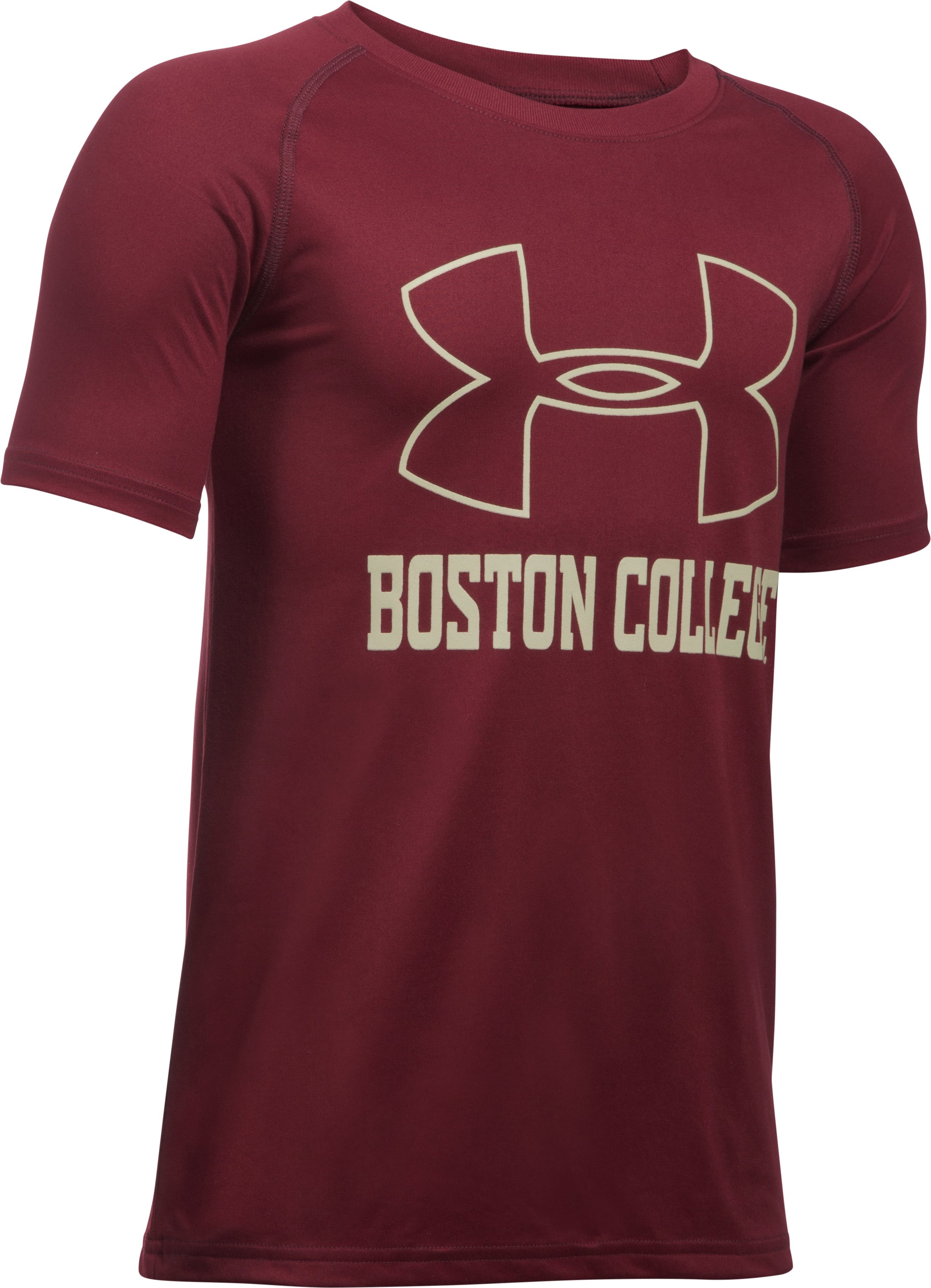 Boys' Boston College Charged Cotton® T-Shirt, Cardinal, undefined